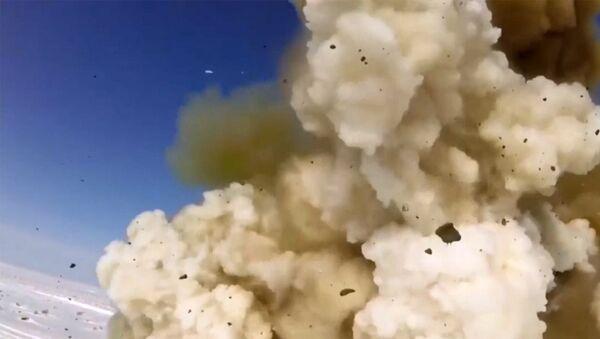 Испытательный пуск новой модернизированной ракеты системы ПРО - Sputnik Латвия