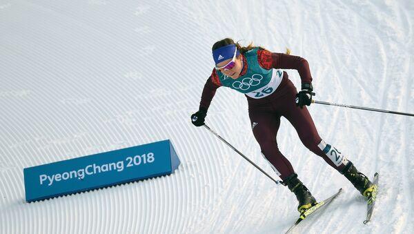 Российская спортсменка Юлия Белорукова - Sputnik Латвия