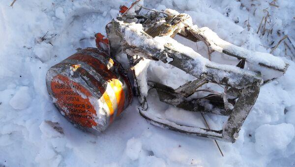 МАК опубликовал фотографии бортовых самописцев разбившегося в Подмосковье Ан-148 - Sputnik Латвия