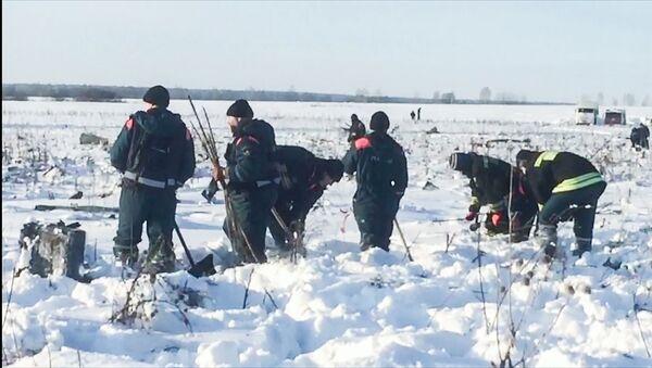 Последствия крушения Ан-148 в Московской области - Sputnik Латвия