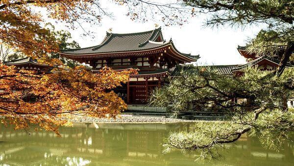 Буддийский храм в японском городе Киото - Sputnik Latvija