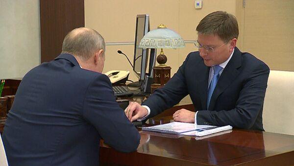 Krievijas prezidentam sagādāts pārsteigums – divi unikāli dimanti - Sputnik Latvija
