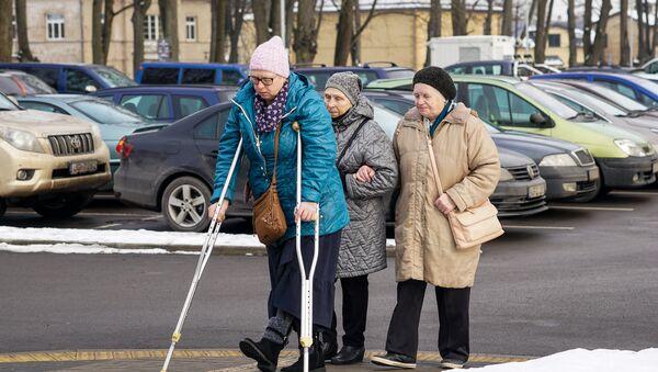 Латвийские пенсионеры - Sputnik Латвия