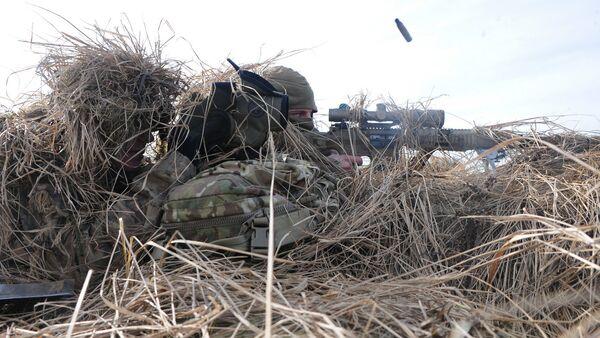 Совместные военные учения стран Балтии и войск НАТО - Sputnik Latvija
