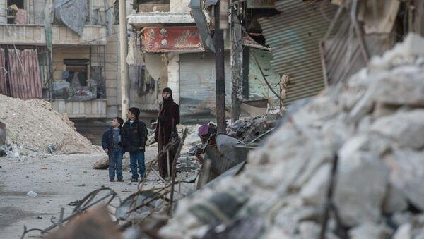 Ситуация в сирийском городе Алеппо - Sputnik Латвия