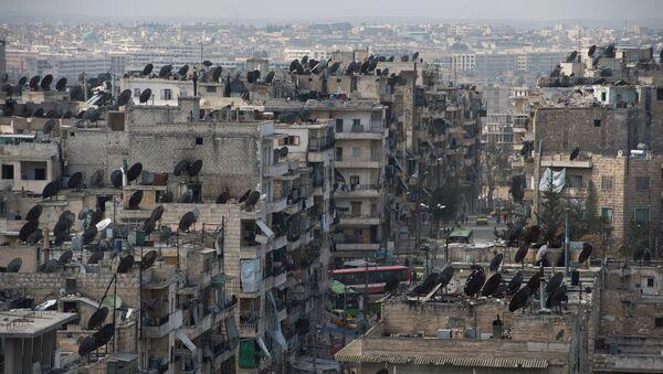 Ситуация в сирийском городе Алеппо - Sputnik Latvija