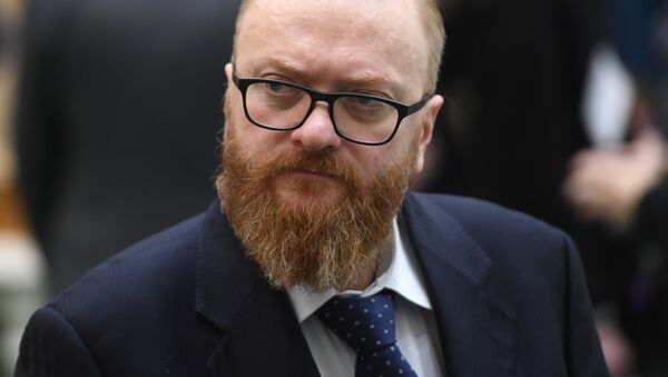 Депутат Государственной Думы РФ Виталий Милонов - Sputnik Латвия