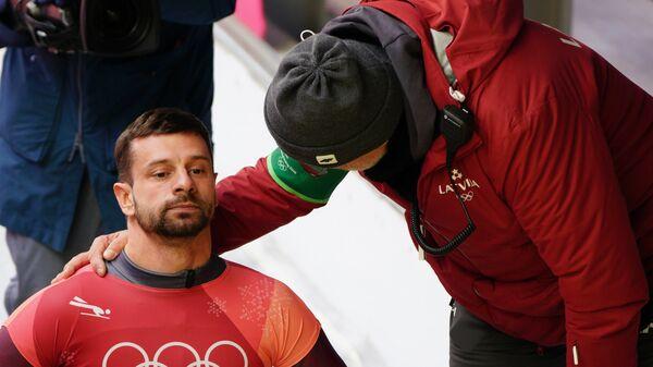Олимпиада 2018. Скелетон. Мужчины. Второй день - Sputnik Латвия