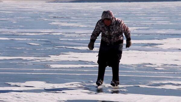 Бабушка на коньках - Sputnik Латвия
