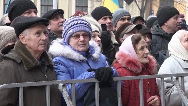 Марш за импичмент Порошенко в Киеве - Sputnik Латвия