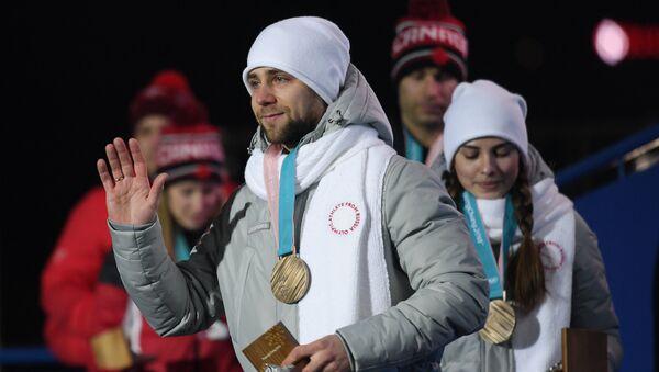 Российские спортсмены Анастасия Брызгалова и Александр Крушельницкий - Sputnik Латвия