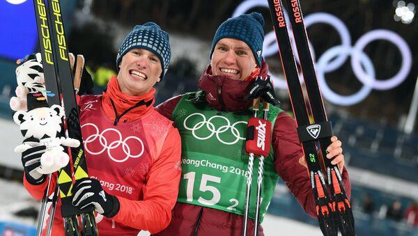 Олимпиада 2018. Лыжные гонки. Мужчины. Командный спринт - Sputnik Латвия