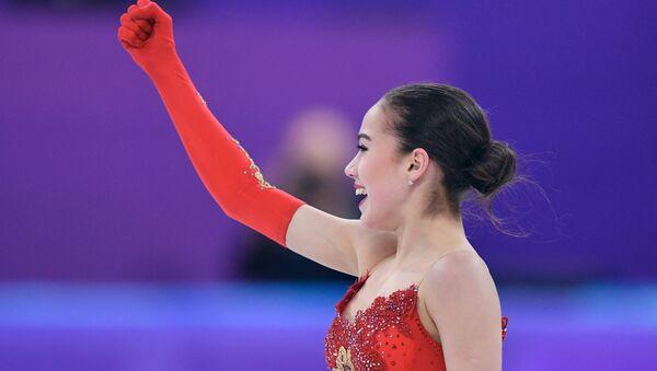 Олимпиада 2018. Фигурное катание. Женщины. Произвольная программа - Sputnik Латвия