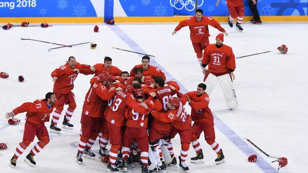 Олимпиада 2018. Хоккей. Мужчины. Финал - Sputnik Латвия