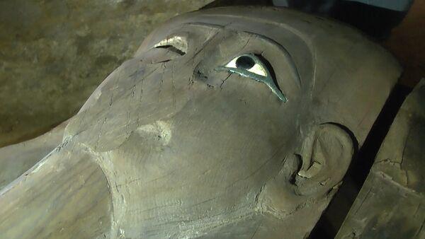 Раскопки некрополя в Египте - Sputnik Латвия