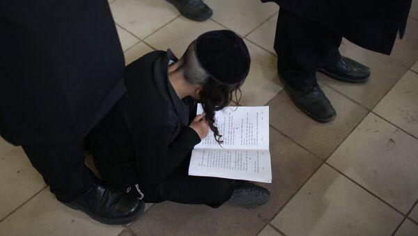 Подготовка к празднованию еврейского Нового года Рош ха-Шана - Sputnik Латвия