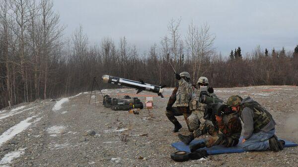 Американский переносной противотанковый ракетный комплекс (ПТРК) - Sputnik Latvija