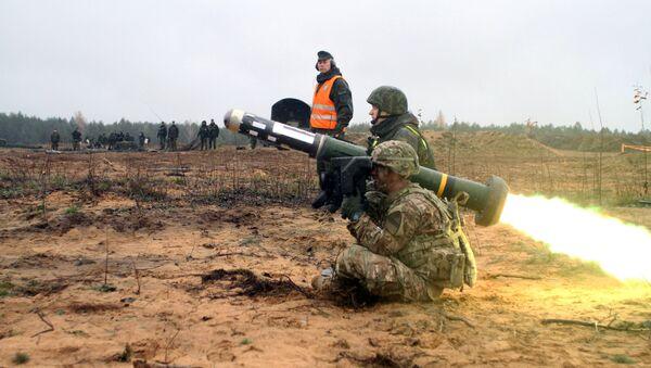 Американский переносной противотанковый ракетный комплекс (ПТРК) - Sputnik Латвия