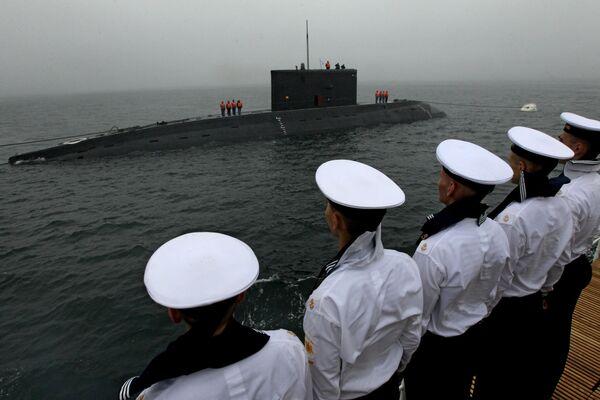 Генеральная репетиция военно-морского парада во Владивостоке - Sputnik Латвия