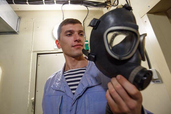 Тактико-специальные учения на Новороссийской военной базе - Sputnik Латвия