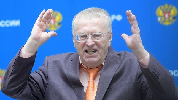Кандидат в президенты РФ, лидер ЛДПР Владимир Жириновский - Sputnik Латвия