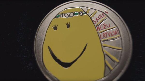 Коллекционная монета Моя Латвия - Sputnik Latvija