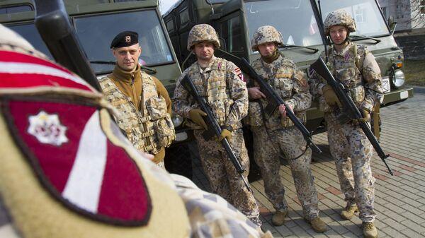 Военные Латвии - Sputnik Latvija