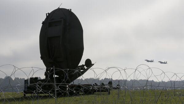 Многофункциональный радиолокатор TPS-77 MRR - Sputnik Латвия