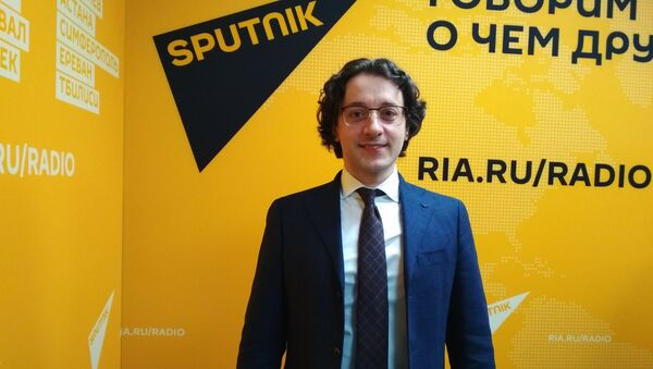 Артур Гараганов - Sputnik Латвия