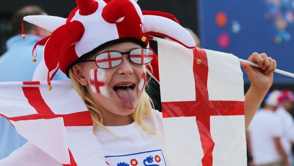 Футбол. Чемпионат Европы - 2016. Матч Англия - Россия - Sputnik Латвия