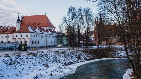 Вид Старого Вильнюса ранней весной - Sputnik Latvija