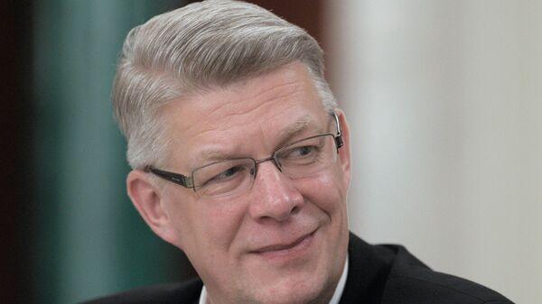 Экс-президент Латвии Валдис Затлерс - Sputnik Латвия