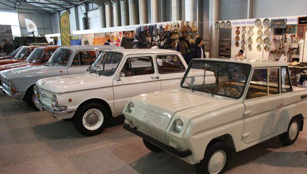 27-я выставка старинных автомобилей Олдтаймер-Галерея - Sputnik Латвия