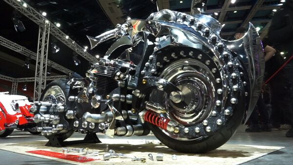 Мотоцикл - произведение искусства - Sputnik Латвия