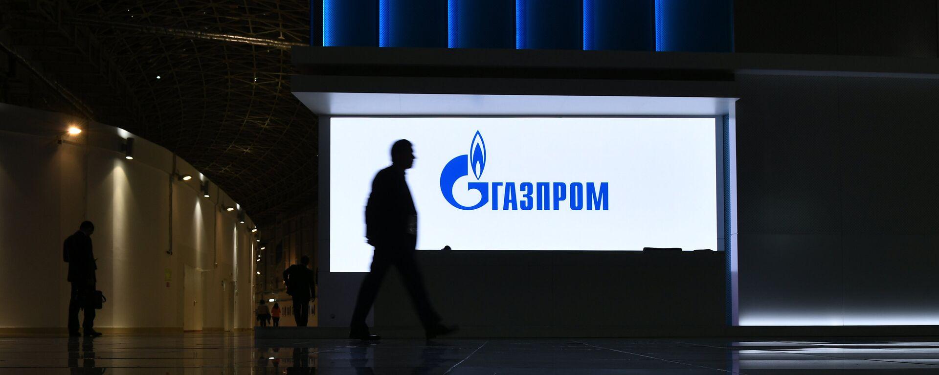 Логотип компании Газпром - Sputnik Латвия, 1920, 13.10.2021