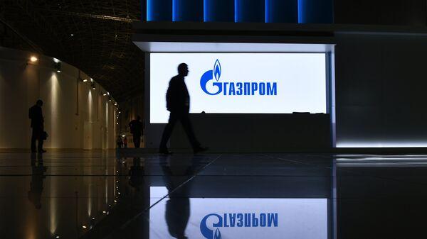 Стенд компании Газпром на выставке, организованной в рамках Российского инвестиционного форума (РИФ-2018) в Сочи. - Sputnik Latvija