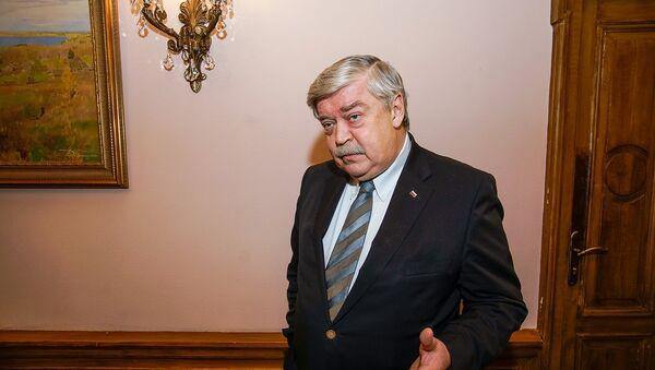 Посол РФ в Латвии Евгений Лукьянов - Sputnik Latvija