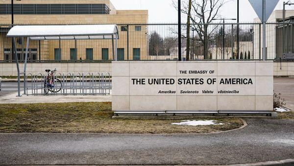 Посольство США в Риге - Sputnik Latvija