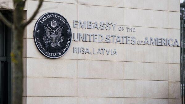 Посольство США в Риге - Sputnik Латвия