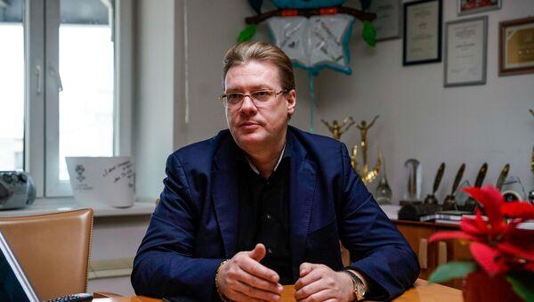 Константин Выборнов,  пресс-секретарь Олимпийского комитета России - Sputnik Латвия