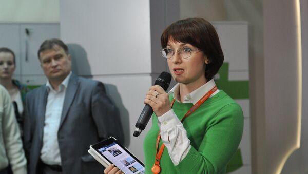 Директор интернет и мультимедиа проектов РИА Новости Ирина Кедровская - Sputnik Латвия