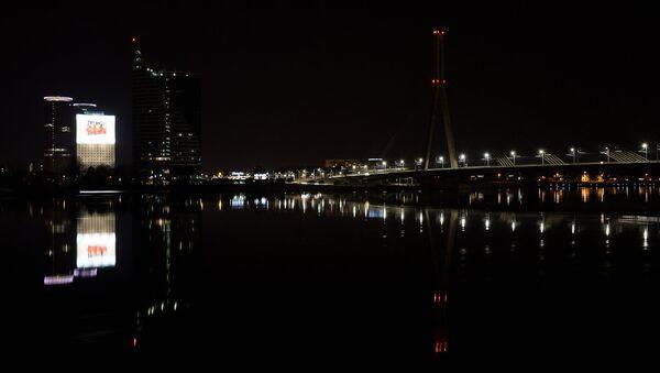 Вантовый мост через Даугаву - Sputnik Латвия