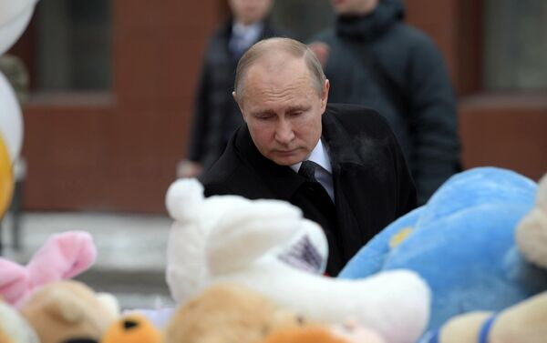 Līdzjūtību bojāgājušo tuviniekiem izteica Vladimirs Putins un citi politiķi - Sputnik Latvija