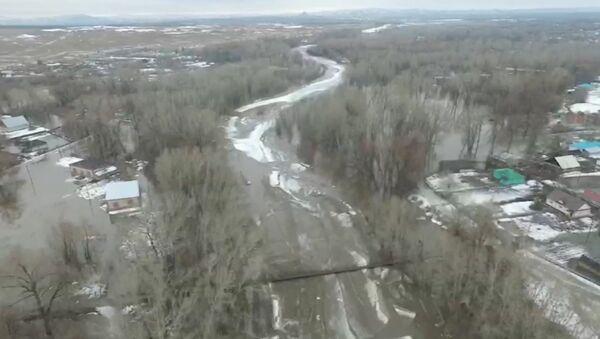 Подтопление деревень в Алтайском крае - Sputnik Латвия