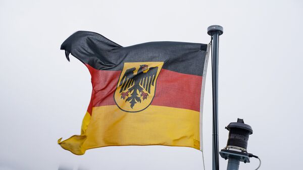 Флаг ВМС Германии - Sputnik Latvija