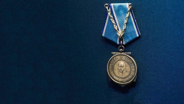 Медаль Ушакова. Награды Второй мировой войны - Sputnik Латвия