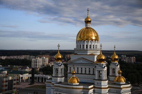 Кафедральный собор святого Федора Ушакова в Саранске - Sputnik Латвия
