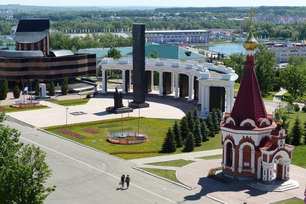 Центр города Саранска - Sputnik Латвия