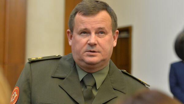 Министр обороны Беларуси Андрей Равков, архивное фото - Sputnik Латвия