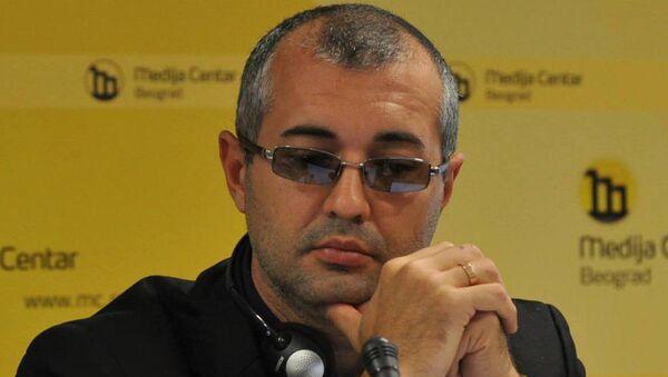 Вице-президент Международной Федерации журналистов, секретарь Союза журналистов России Тимур Шафир - Sputnik Латвия
